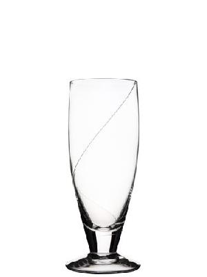 Line Beer Glass  - Kosta Boda
