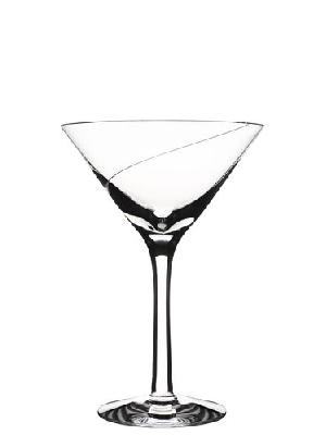 Line Martini Glass - Kosta Boda