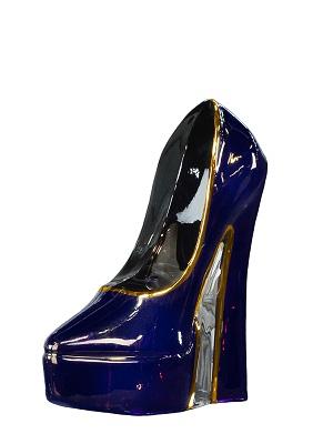 Make Up Shoe Amethyst Lilac - Kosta Boda
