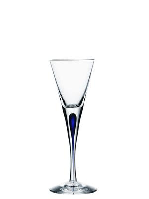 Intermezzo Blue Shot Glass - Orrefors