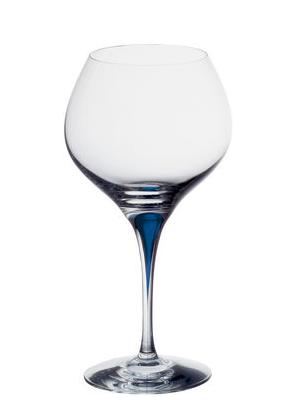 Intermezzo Blue Bouquet - Orrefors Wine Tasting Glass