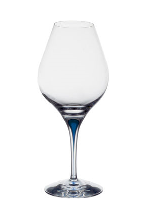 Intermezzo Blue Aroma Wine Tasting Glass - Orrefors