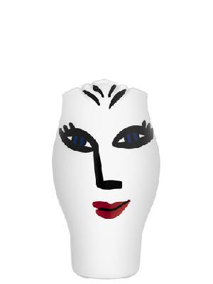 Open Minds Vase Middle White - Kosta Boda