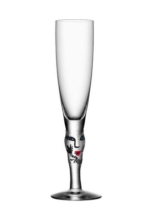 Open Minds Champagne Clear  - Kosta Boda