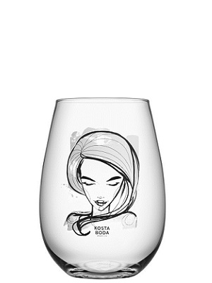 Need you Glass White 2-pack - Kosta Boda
