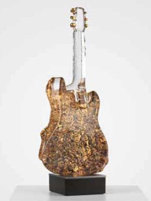 Gitarr Guld - Kosta Boda