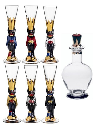 Nobel Devil Glass 6-pack + Decanter