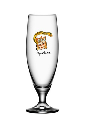 Friendship My Dear Beer Glass - Kosta Boda