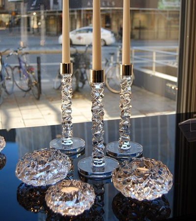 Candlesticks and Votives
