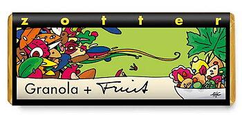 Zotter choklad Granola Fruit