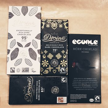 Mörka choklad-paketet 360 g