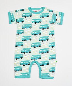 Sture & Lisa Ice Cream Truck jumpsuit med korta ben