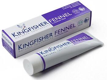 Kingfisher tandkräm fänkål utan fluor
