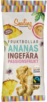 Smiling fruktbollar ananas/passion/ingefära