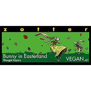 Choklad Zotter Bunny in Easterland