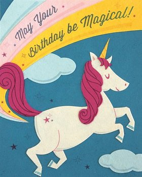 Good Paper Unicorn Birthday
