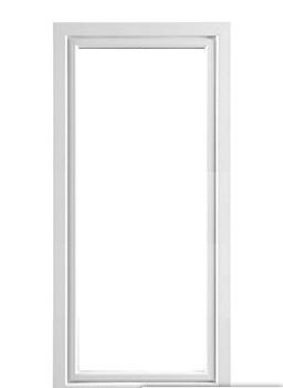 PVC fönsterdörr inåtgående 3-glas