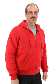 Kevlar Hoodie Red