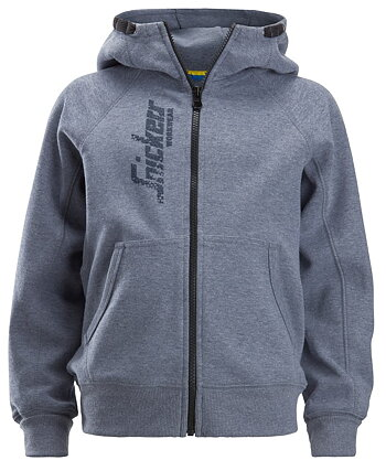 7508  Junior Logo Full Zip Hoodie Snickers Ww