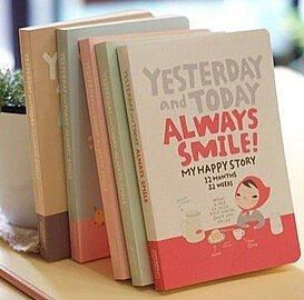 Almanacka/Dagbok - Always Smile