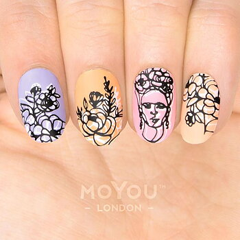 MoYou London Stamping Nail Art Plate - Artist 29