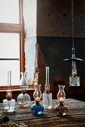 Oljelampor & ljusstakar