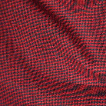 Houndstooth red - 462L