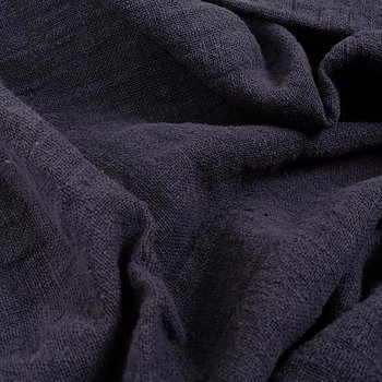 Fluffy  linen fabric - muddy purple- 6325SH