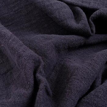Fluffy  linen fabric - muddy purple- 6325SH