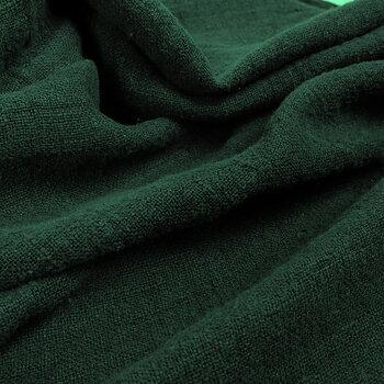 Fluffy  linen fabric - forest green - 6303SH