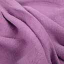 Fluffy  linen fabric - morning purple - 6317SH