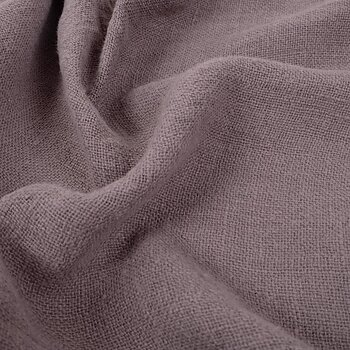 Fluffy  linen fabric - dune brown- 6323SH