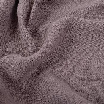 Fluffy  linen fabric - dune brown- 6323SH