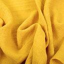 Fluffy  linen fabric - sunflower yellow - 6303SH