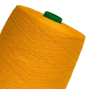 Linen yarn - sunflower yellow