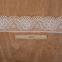 Gele Linen lace - white 85mm