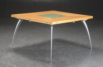 Table with foldable table tops, Tranekaer Cirkante + Magis Gran Tucano