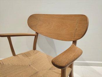 Fåtölj, Carl Hansen & Son CH22 - Design Hans J Wegner