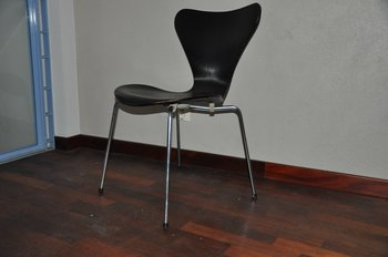 Vintage chair, Fritz Hansen Sjuan - Year 1970
