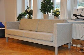 Soffa 3-sits, Kinnarps Scandinavia 373