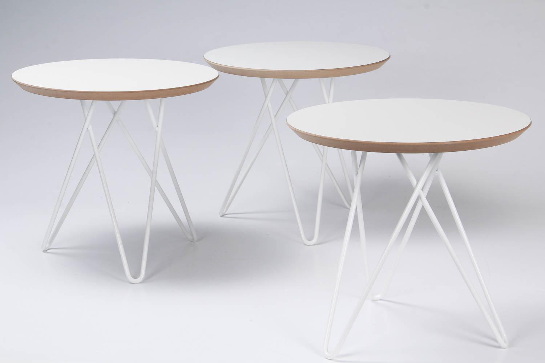 Side Tables 45 Cm In Diameter