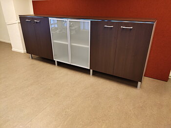 Storage with 3 cabinets - 260 cm