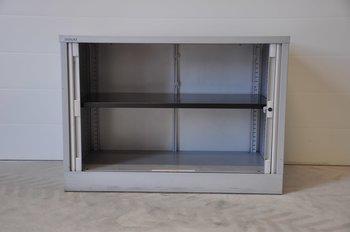Förvaringsskåp i plåt från Bisley - 100 cm