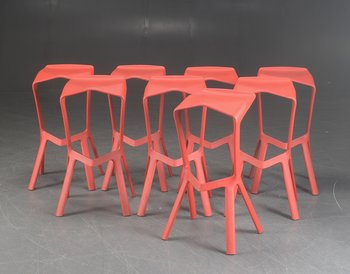 Bar stools, Plank from Miura - Design Konstantin Grcic