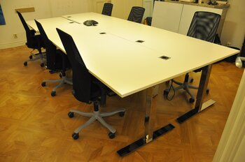 Desk / workstations, 1-6 workplaces - Kinnarps Oberon