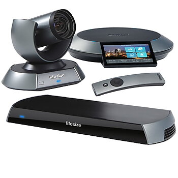 Video conferencing, Lifesize HD Icon 600, camera 10x, phone & remote control
