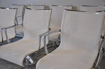 Konferensstolar, Alias Meetingframe 437 - Vita - Alberto Meda