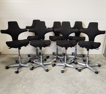 Office chair, HÅG Capisco 8106 with saddle seat