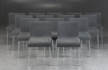 Stackable conference chairs, GUBI Chair II - Design by Komplot