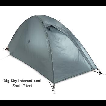 Big Sky Soul tent Bikepack edition